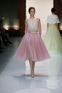 Faldas en tul, la nueva tendencia de la moda!