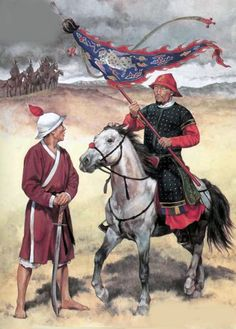 Chinese soldiers of the Ming Dynasty