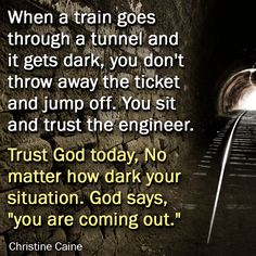 Trust The Conductor of everything