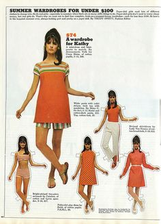 Can you imagine all of these dreamy, retro tangerine styles for under one hundred dollars!?