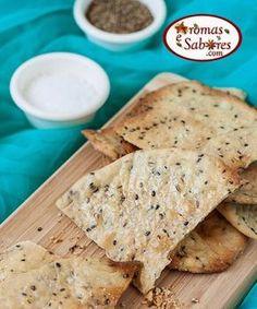 Biscoitos salgados - crackers Mais