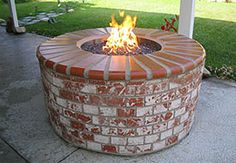 Brick Fire Pit ~ Love This One