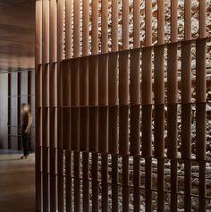 Ricard Camarena Restaurant in Valencia by Francesc Rifé Studio Contemporary Architecture, Interior Architecture, Interior Design Studio, Wall Treatments, Interior Walls, Interior Ideas, Restaurant Design, Restaurant Restaurant, Modern Restaurant