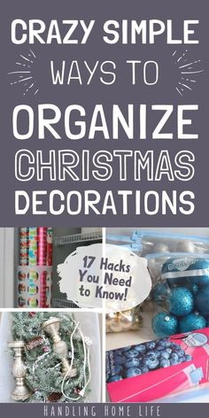 Brilliant ways to organize and store Christmas decorations. Happy Christmas HAPPY CHRISTMAS | IN.PINTEREST.COM #WALLPAPER #EDUCRATSWEB