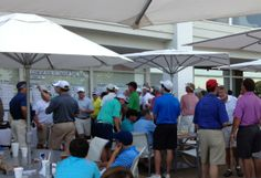 Men love golf.   The CCJ Four Ball Weekend As Seen in The Scout Guide Jackson @The Scout Guide Jackson