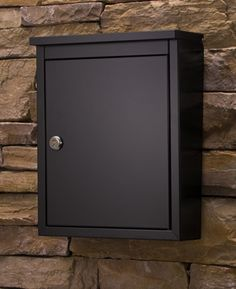 the chelsea mailbox mailboxes wall mount
