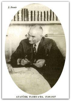Atatürk Florya'da. 15.09.1937