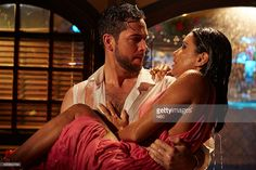 Zachary Levi as James McMann Eva Longoria as Ana Sofia Calderon in NBC's Telenovela #zacharylevi #evalongoria #telenovela #nbc #tvseries