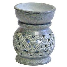 Celtic Knot Carved Soapstone Aroma Lamp - 4'' Height - Handmade in India by Pacific Spirit - Home Fragrance Lamps. $29.95. Celtic Knot Carved Soapstone Aroma Lamp - 4'' Height - Handmade in India