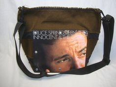 Bruce Springsteen, The Wild, The Innocent and the E Street Band Record Purse ** Discover this special product, click the image