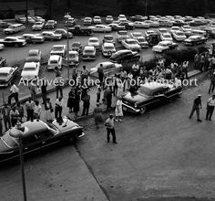 A scene from Holston Valley Community Hospital following an explosion at the Aniline division of Tennessee Eastman on October 4th, 1960.