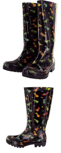 Cats Galore Ultralite Rain Boots™ at The Animal Rescue Site