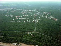 mikasavela: Aerial photo of Akademgorodok, a Siberian science town. [Originally posted Mar 6, 2012 - URBANTUMBLR Vol. 2 reblog]