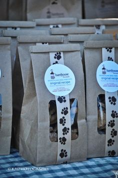 Nice packaging for dog treats.