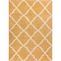 Well-woven Bright Trendy Twist Iron Trellis Lattice Modern Classic Geometric Moroccan Frise Texture   Overstock.com Shopping - The Best Deals on 3x5 - 4x6 Rugs