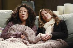Cristina Yang, Meredith E Cristina, Meredith And Christina, Lexie Grey, Derek Shepherd, Meredith Grey, Jackson Avery, Sandra Oh, Ally Mcbeal