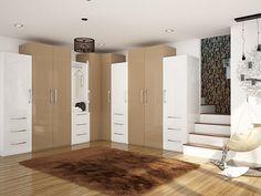 17 Finest Wardrobe Decoration Ideas for You Built In Wardrobe Designs, Bedroom Built In Wardrobe, Bedroom Built Ins, Cupboard Wardrobe, Shelves In Bedroom, Small Bedroom Designs, Small Bedrooms, Modular Wardrobes, Bedroom Colour Palette
