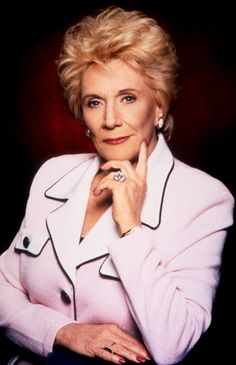 """The legendary Jeanne Cooper- Katherine Chancellor on """"The Young and the Restless"""