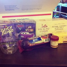 The Young Retiree: Would You Like Some Cheese With That Wine? :: Fancy Care Package!