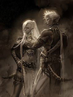 contempting siblings position fantasy drowyou their dark find drow elf rpg art can wow dd Dark Elf Dark Elf siblings contempting their position dd wow rpg fantasy art drowYou can finYou can find Rpg and more on our website Dark Fantasy Art, Fantasy Rpg, Fantasy Artwork, Fantasy Character Design, Character Design Inspiration, Character Art, Fantasy Races, Fantasy Warrior, Warrior Angel