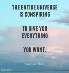 El universo entero está conspirando para darte todo lo que quieres Check: http://www.illulife.com/ for more!