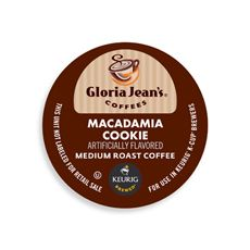 K-Cup® Macadamia Cooke Coffee for Keurig® Brewers - Gloria Jean's Coffees - Bed Bath & Beyond