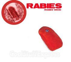 Giant Microbes Rabies (Rabies Virus) | Giant Microbes Rabies (Rabies Virus) Stuffed Plush Toy, Fun & Unique ...
