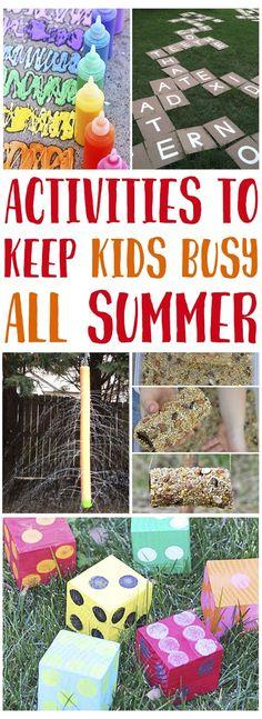 Summer Activities fo