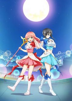 Anime picture mahou shoujo ore uno saki mikage sakuyo long hair tall image blush short hair open mouth breasts black hair multiple girls purple eyes large breasts green eyes pink hair full body open clothes official art midriff finger to mouth 554290 en Gurren Lagann, Magical Girl, Boruto, Mahou Shoujo Ore, Anime Guys, Manga Anime, Anime Art, Best Friends Brother, Manga News