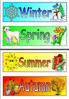 Now that we have learned about the four seasons and what occurs during each ...    valdosta.edu