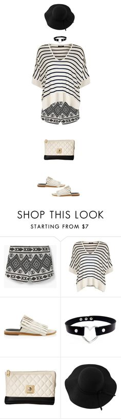 """Pattern Mixing"" by polylana ❤ liked on Polyvore featuring MANGO, Dex, TIBI, Love Moschino, Sans Souci and patternmixing"