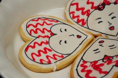"""Edible Books Contest entry: """"Queen of Hearts and Her Tarts"""" by @Karen Pietsch #cookies"""