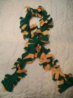 Spirit Fleece Scarf by kcquilting on Etsy, $10.00