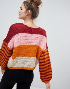 Shop the latest Only stripe sweater trends with ASOS!