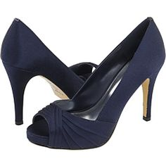 New Wedding Shoes Navy Heels Peep Toe 21 Ideas ca0c65dc19