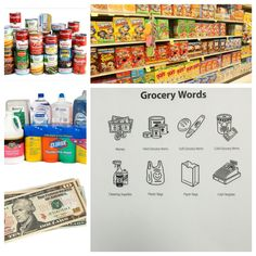 Grocery Words Interesting There Are So Many Fun Ways To Teach Young Adults The Variety Of .