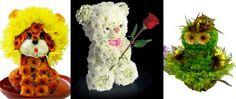 Blog Florencanto.com.br » Esculturas de Flores