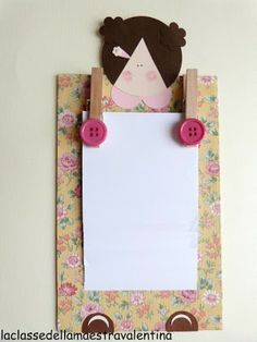 PORTANOTA PARA EL DIA DE LA MADRE Crafts For Kids, Arts And Crafts, Paper Crafts, Ideas Día Del Padre, Tole Decorative Paintings, Mothers Day Crafts, Mother And Father, Ivana, Creative Kids