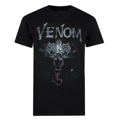 Marvel Mens - Venom Sneak - T-shirt - Black - Small