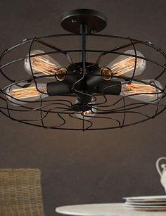 Kronleuchter ventilator design im landhausstil kabel for Billige deckenleuchten