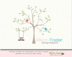 Premade Camera Logo Photography Logo Tree Logo Bird Logo Design Small Business Branding