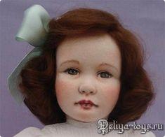Teresa Churcher и её текстильные куклы. Dressing, Felt, Dolls