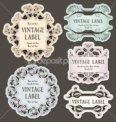 Vintage Labels Larger Más