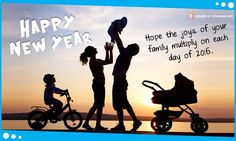 New Year Wishes for Family Ecards