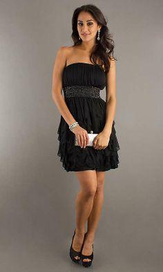 Very Short Black Dress | pick up online Short Strapless Black Dress very hot exceptional ...