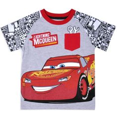 DISNEY PIXAR CARS SUMMER BOYS COTTON T-SHIRT TOP NAVY BLUE LONG SLEEVE 3-24 mths