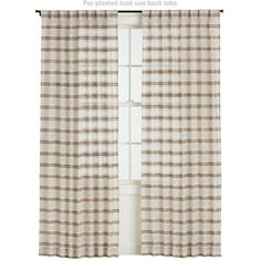 Rialto 48x96 Curtain Panel in Curtains | Crate and Barrel