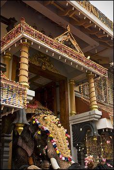 Jumbo Exit, Thiruvambady Temple, #ThrissurPooram #Kerala #India