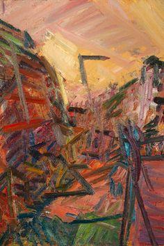 Frank Auerbach - Mornington Crescent (Winter Morning)