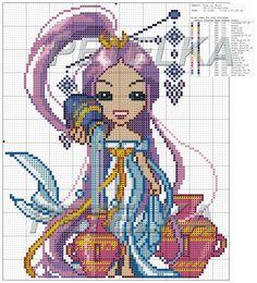 girl zodiac set 8/12